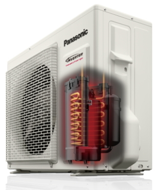 tepelné čerpadlo vzduch vzduch, venkovní jednotka HEATCHARGE